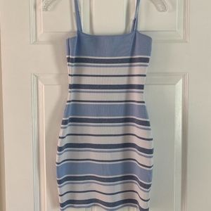 "Superdown ""Dionne Striped Knit Dress"""